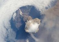Sarychev vulkán