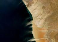 Namíbia porfelhői