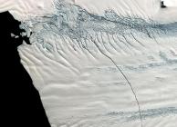 Az antarktiszi Pine-sziget gleccsere