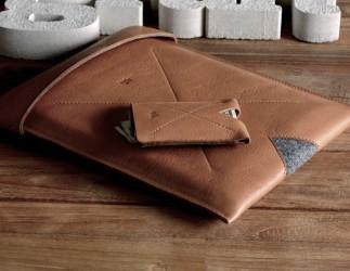Stílusos bőrtok iPadhez