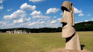 Stonehenge és Húsvét-sziget Texasban