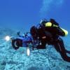 Az Aquarius az óceán fenekére készül