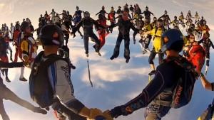 Új ejtőernyős világrekord