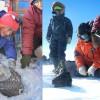 Méretes meteoritot találtak az Antarktiszon