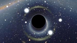 Forró gázból nassol a fekete lyuk