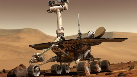 Az Opportunity marsjáró agyagásványt talált a vörös bolygón