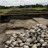 Római kori födémet találtak Brigetióban az ELTE régészei